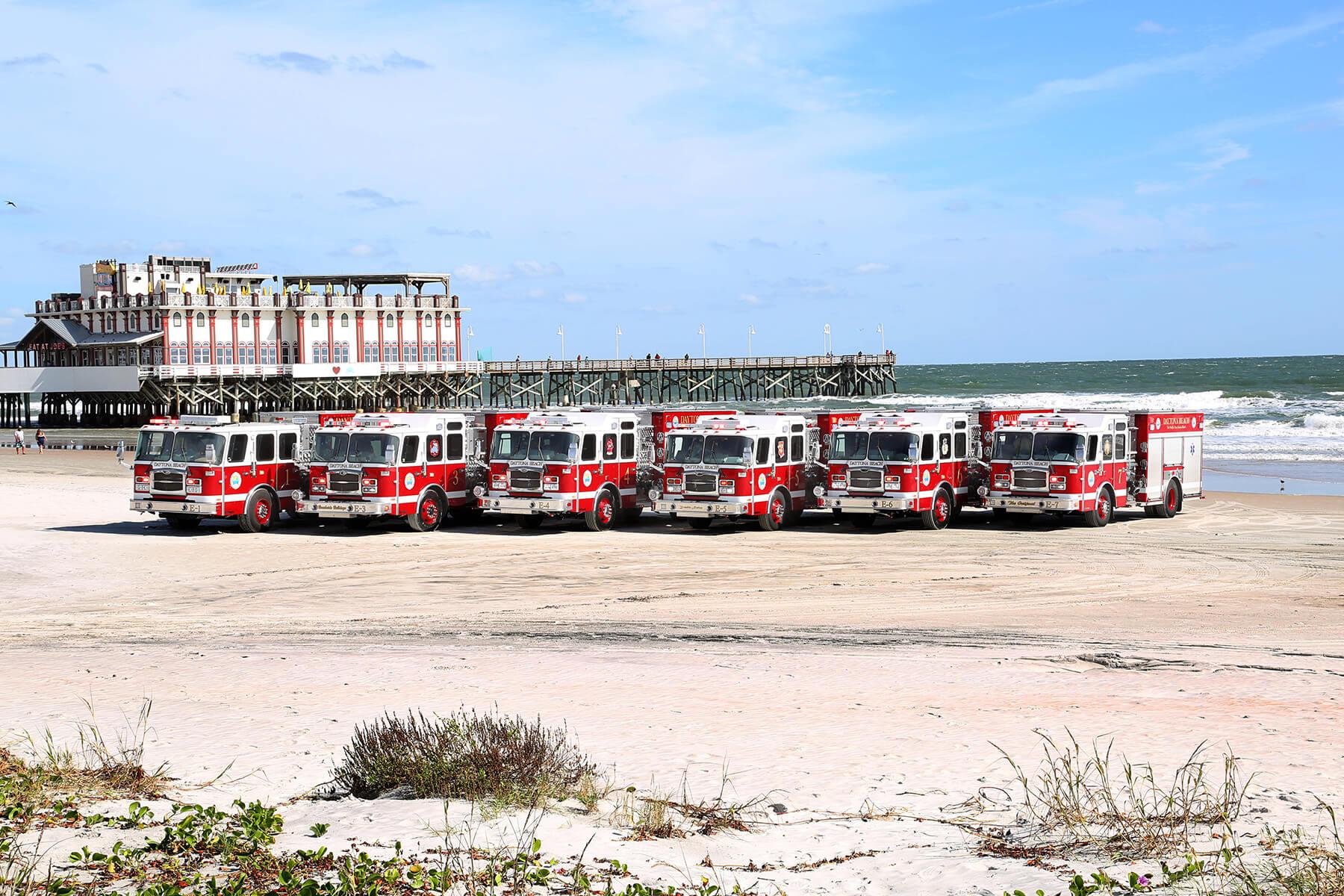 Daytona's All E-ONE Fleet